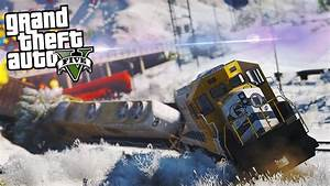 GTA 5 Train Crash In REVERSE! (GTA V Mods) - YouTube