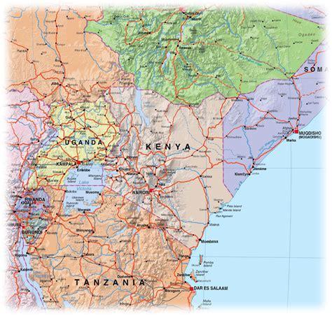maps  kenya map library maps   world