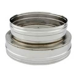 Tubage Inox Double Paroi 150 : adaptateur conduit double simple paroi pro 150 200 ~ Premium-room.com Idées de Décoration