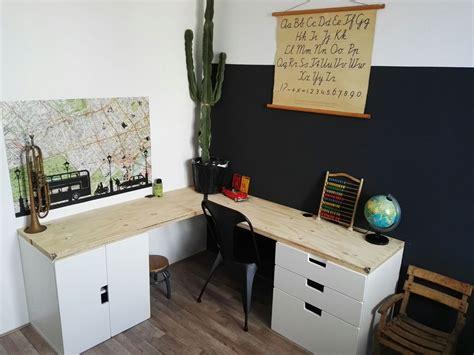 ikea stuva desk boys room industrieel bureau desk