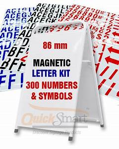 sandwich board sign and large magnetic letters package buy With magnetic sign board letters