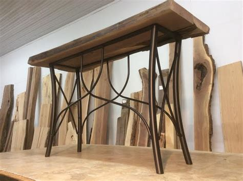 Sofa Table Legs by Ohiowoodlands Console Table Base Steel Sofa Table Legs
