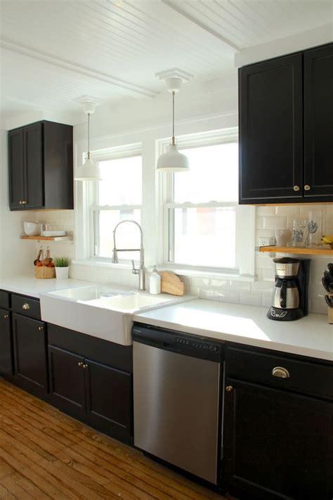 black kitchen cabinets ideas    black