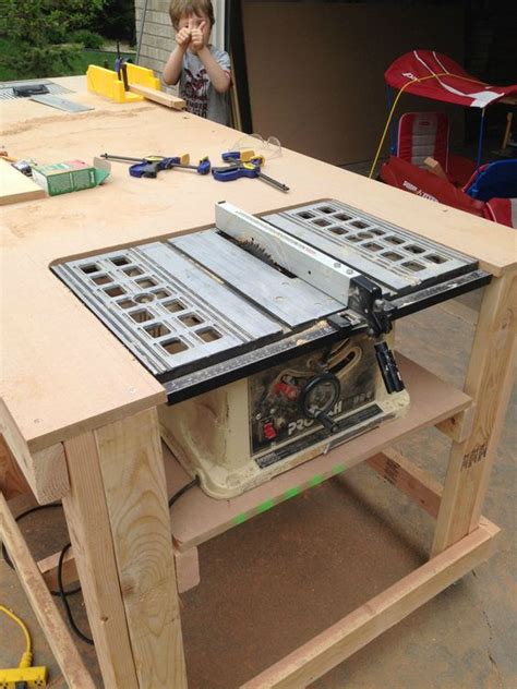 how to make a work table searching diy workbench and built ins on pinterest