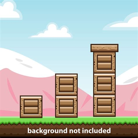 wooden brick tile game obstacle opengameartorg