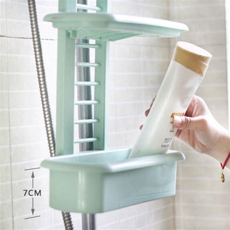 honana bs  bathroom shower caddy plastic organizer