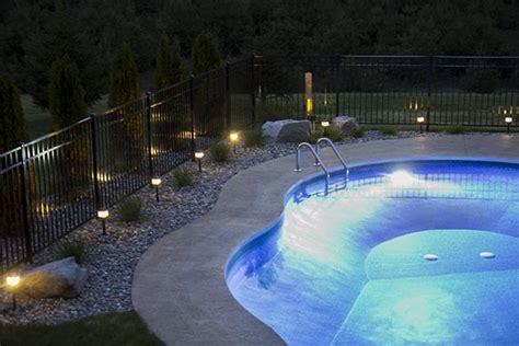 outdoor lighting around pool how to install low voltage landscape lighting home