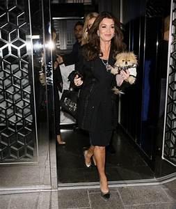 Lisa Vanderpump Pictures Joanna Krupa Grabs Dinner In