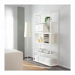 Bibliotheque Ikea Enfant : fj lkinge biblioth que blanc salles de musique chambre enfant et bureau ~ Teatrodelosmanantiales.com Idées de Décoration