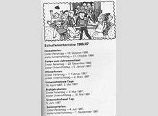 Schulferien DDR 19861987