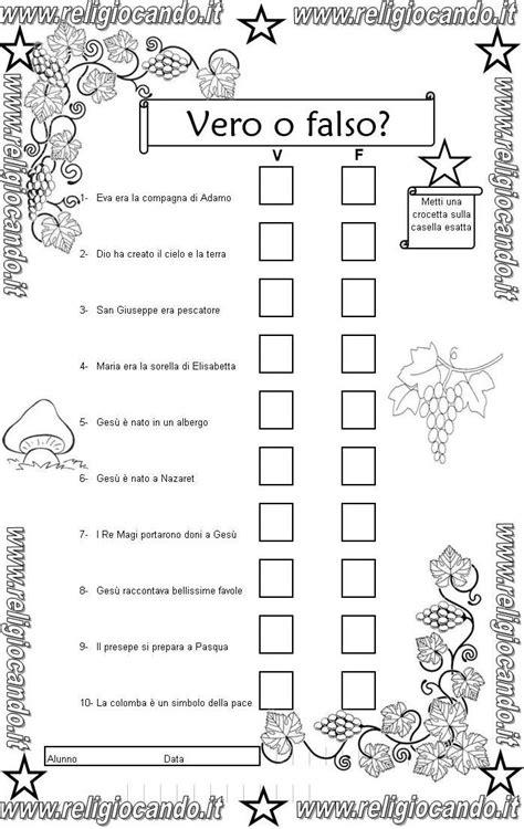 prova di ingresso di religione cattolica per la classe - Test Ingresso Scuola Primaria