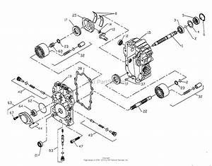 Ayp  Electrolux Y20vh50a  1994  Parts Diagram For 20 Hp 50