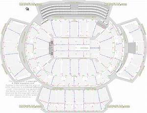 Allstate Seating Chart Atlanta Philips Arena Detailed Seat Row Numbers End