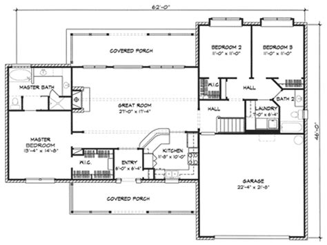 Floridale Rustic Country Home Plan 095d-0003