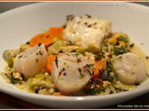 la cuisine de la mer recettes de la mer et fricassée
