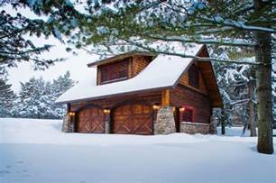 Decorative Barn Style Garage With Apartment Plans by Carriage House Lower Whitefish Lake 1 Winter