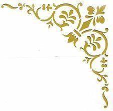 Schablone Wand Barock : die 25 besten ideen zu ornament schablone auf pinterest wandschablonierung damast dekor und ~ Bigdaddyawards.com Haus und Dekorationen