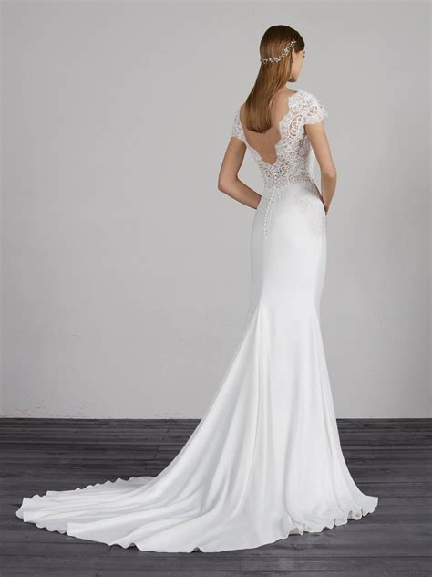 pronovias milady gown sell  wedding dress