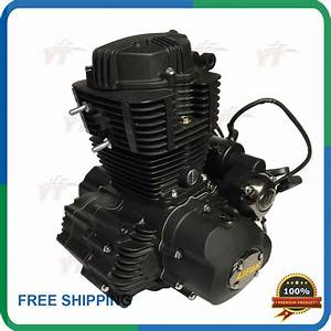 250cc Engine Lifan 250 Air Cooled Motorcycle Engine With Balance Shaft Lf165fmm