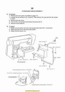 Elna 6003 Sewing Machine Service