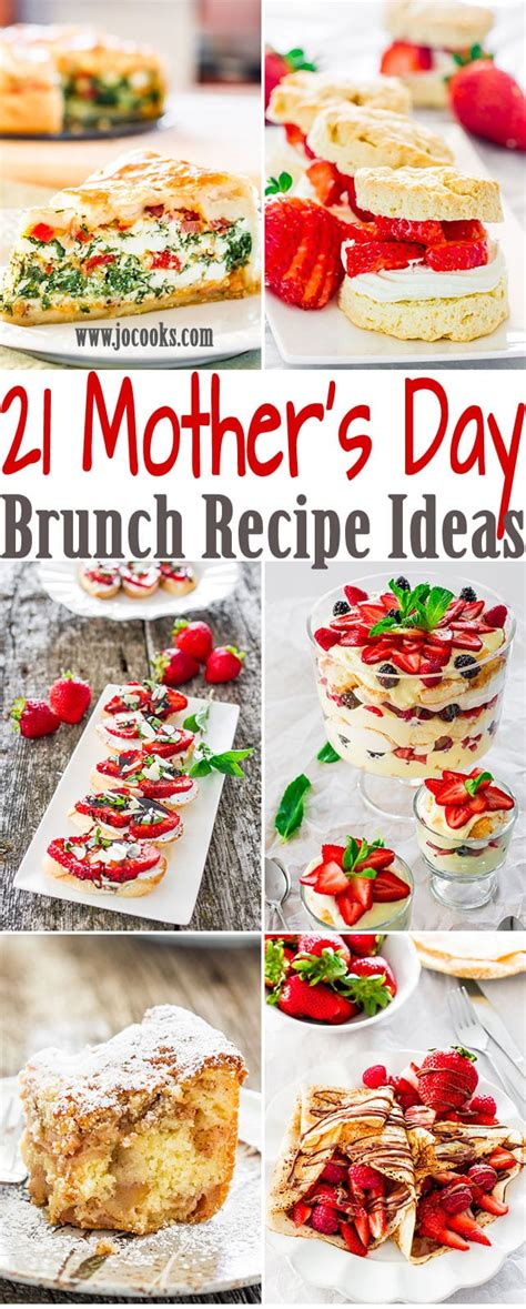 brunch recipe ideas 21 mother s day brunch recipe ideas your mom would love jo cooks