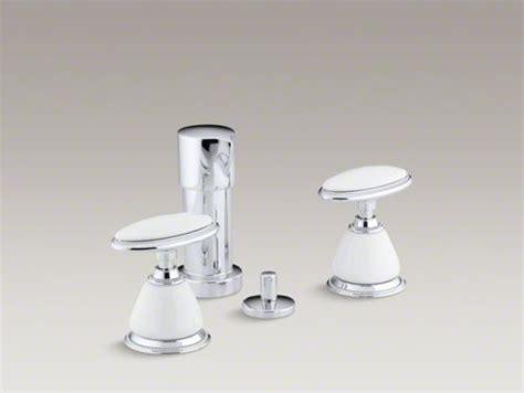 kohler antique vertical spray bidet faucet with oval
