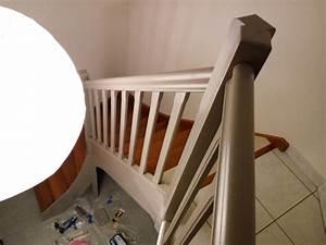 comment peindre escalier bois comment repeindre With commentaire repeindre un escalier en bois