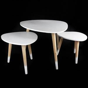 Table Gigogne Scandinave : tables basses gigogne maison design ~ Teatrodelosmanantiales.com Idées de Décoration