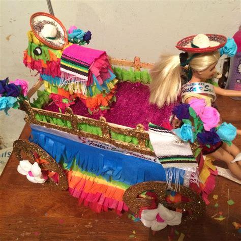 fiesta shoebox float 2014 crafts pinterest