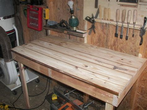 wall mounted workbench  beginningwoodworker