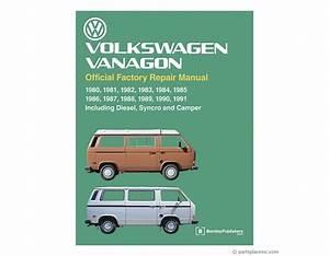 Vw Vanagon Bentley Repair Manual