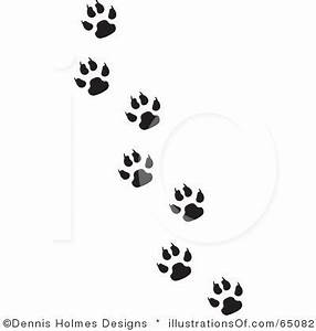 paw print | Fisher Cat Paw Prints Badger | Tattoos ...