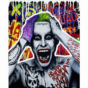 XOXO JOKER GRAFFITI ART by artist Sanuj Birla – Pop Art ...