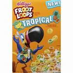 Cereal Loops Froot Tropical Kellogg Breakfast Apple