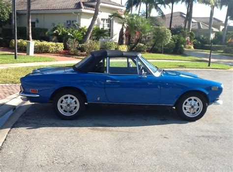 1972 Fiat 124 Spider by 1972 Fiat 124 Spider Classic Italian Cars For Sale