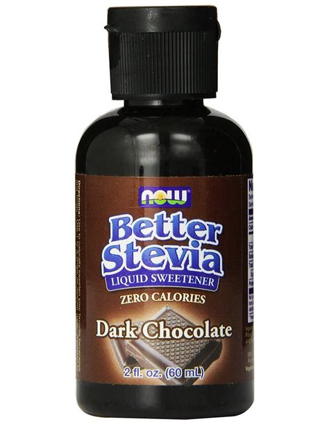 Now Foods Better Stevia Liquid Extract  60 Ml Su