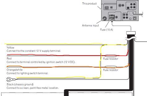 Pioneer Dvd Player Wiring Harnes Color Code by Pioneer Avh P2400bt Wiring Diagram Car Audio Systems
