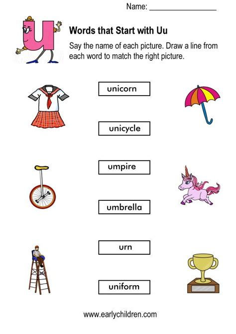 things that start with the letter u letter of recommendation 638 | words starting with u worksheets for kindergarten things that start with the letter u things that start with the letter u