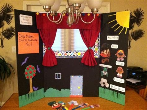 diy  sew puppet theater   streamer fun beacon