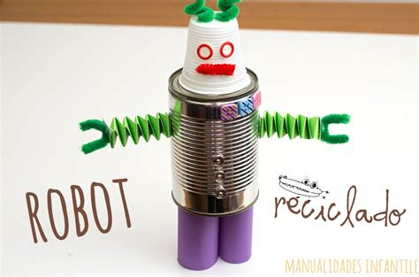 materiales para hacer un robot de material reciclable materiales para hacer un robot de