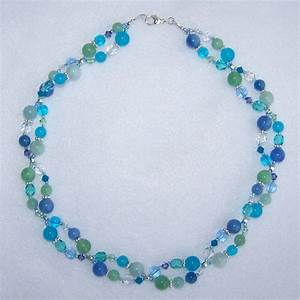 Simple beaded necklace designs wwwimgkidcom the for Beaded bracelet design ideas