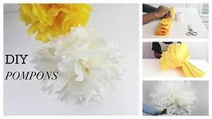 Fleur En Papier De Soie : diy d co comment faire des fleurs en papier de soie ~ Nature-et-papiers.com Idées de Décoration