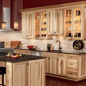 25 best ideas about hickory cabinets on pinterest With kitchen cabinets lowes with facebook sticker store