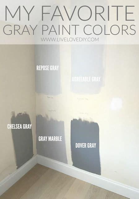 gray paint colors revealed livelovediy blog