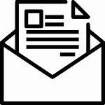 Icon Email Letter Newsletter Marketing Envelope Seo