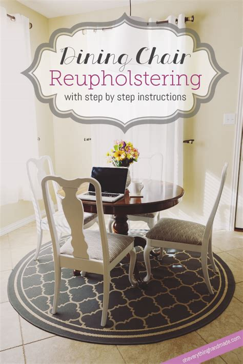 diy dining chair reupholstering oh everything handmade