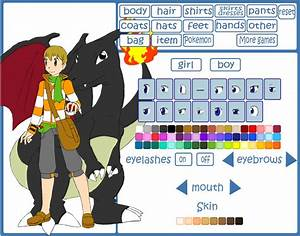Pokemon Trainer Creator V2 By Hapuriainen On Devi By