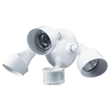 motion sensor light home depot heath zenith 270 176 3 motion sensing security light sl