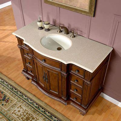 porcelin kitchen sinks silkroad exclusive 48 inch bathroom single sink vanity 1599