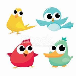 Cute Cartoon Birds stock photos - FreeImages.com